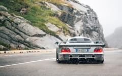Whatever the Weather. (Alex Penfold) Tags: mercedes clk gtr silver supercars supercar super car cars autos alex penfold 2017 switerzerland snow hypercar hyper