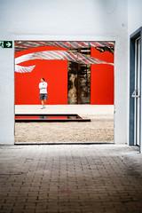 Notausgang (Frank Lindecke) Tags: nordart kunstwerk notausgang schild carlshütte wwwnordartde