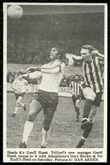1976-77 TELFORD UNITED 1 ATHERSTONE TOWN 0 (Southern League) (bullfield) Tags: telfordunited atherstonetown adders wellington shropshire 1976 geoffhurst westham england