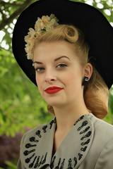 IMG_0133_A (933x1400) (magpiemeg1) Tags: blackcountrylivingmuseum 1940sevents females hats unfiorms fur museums