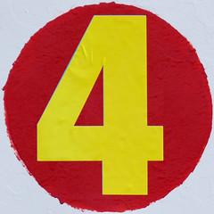 number 4 (Leo Reynolds) Tags: xleol30x squaredcircle panasonic lumix fz1000 4 four onedigit number xsquarex grouponedigit sqset138