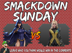 Smackdown Sunday- Raven VS Magik (Luigi Fan) Tags: raven vs magik marvel dc comics