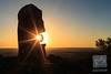 Living Desert Sculpture Garden (David de Groot) Tags: brokenhill livingdesert sculpturegarden sculptures starburst sun