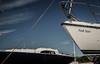 port de Dielette (8) (jolymaxime86) Tags: normandie plage mer see beach bateau boat sun soleil ombre shadow voile noir blanc black white maxime joly