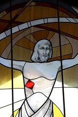 Stained Glass - Finkenberg Austria - July17 (6) (ailognom2005) Tags: stainedglasswindows colouredglass finkenberg austria zillertalaustria zillertal religion chapelofrest