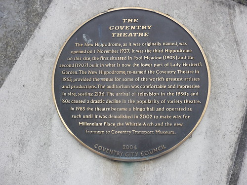 The Coventry Theatre_Plaque_Millennium Place_Hales Street_Coventry_Jul17
