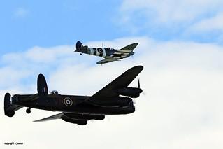 Lancaster spitfire J78A1420