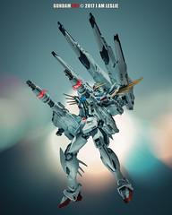 Gundam F91 (I AM LESLIE) Tags: gundam gundamf91 f91 robot anime bandai sony ilce7rm2 zeiss 135mm czaposonnart2135 bokeh