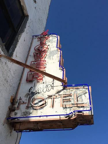 Tower Hotel Sign Restoration And Update