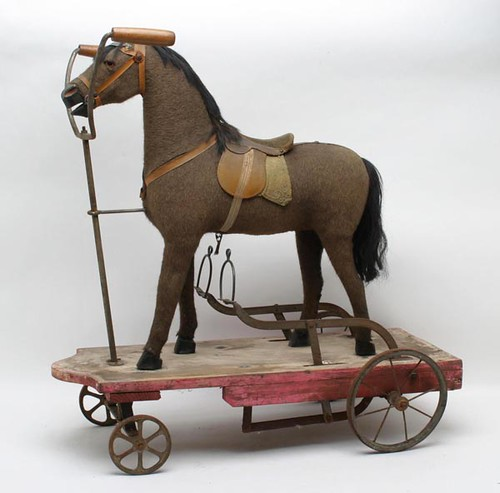 Mohair Horse Ride Toy w/ Pedals ($952.00)