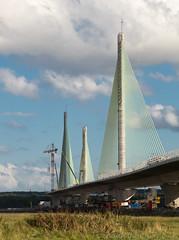 Mersey Gateway 10 aug 17 (Shaun the grime lover) Tags: mersey bridge river gateway cheshire runcorn widnes