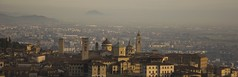 Foto panoramica città alta