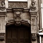 8 - Dieppe - 8 rue de Sygogne - Façade, Détail thumbnail