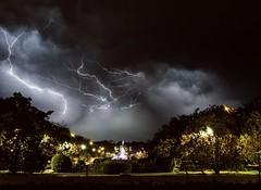 Tormentas (Antonio Goya) Tags: tormenta storm zaragoza españa spain aragon rayos ray night noche nocturna nubes clouds longexposure lighting olympus omd dng xataca dzoom summer verano