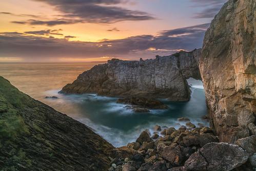 'Bwa Gwyn Sunset' - Rhoscolyn, Anglesey