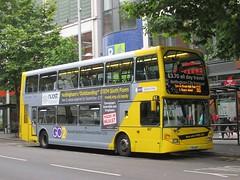 NCT 907 YT61GOP Milton St, Nottingham on 68 (1280x960) (dearingbuspix) Tags: 907 nottinghamcitytransport go2 6869 6869yellowline yellowline yellowline6869 yt61gop