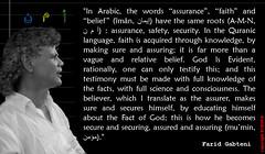 Farid Gabteni_quote 89 (SCDOFG) Tags: faridgabteni thesunrisesinthewest originalmessageofislam islam god koran quote spirituality religion quran scdofg wwwscdofgnet language arab assurance faith iman safety security koranic belief believer