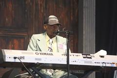 Henry Gray (2017) 01 (KM's Live Music shots) Tags: blues unitedstates louisiana henrygray electricpiano piano neworleansjazzheritagefestival bluestent fairgroundsracecourseneworleans