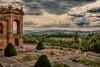 Piazzale antistante la Basilica di San Luca a Bologna hdr (massimo.forapani) Tags: piazzale basilica hdr portico bologna italia