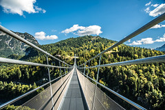 highline179 (potto1982) Tags: wood bridge sigma nature himmel berge berg natur spaziergang 2017 sky d810 stone nikon brücke hängebrücke austria mountains nikond810 wald clouds mountain europa landschaft wandern landscape europe forest hiking österreich alps alpen highline179 landschaftsbild wolken walk gemeindereutte tirol at