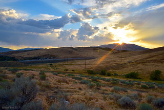 I-80 Go Through the Wild West|Reno, Nevada