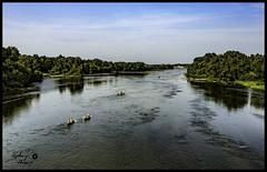 Loire Cosne (touflou) Tags: pont bridge cosnesurloire nievre loire fleuve rivière river railway