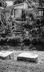 "Treppe zu...-Staircase to-B&W (Siggi-Dee) Tags: ""leica elmar 50mm f28 35mm b26w blackandwhite color digital film japan kodak leica leicam6 leicam9 leicamp m9 tokyo voigtlander street rangefinder leicam5 wetzlar solms"