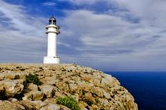 Faro de Cabo de Berbería (Mar_Alonso) Tags: formentera islas baleares sol playa atardecer sunset españa paisaje verano summer beach