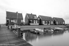 Houses in Marken, Netherlands (George Pachantouris) Tags: marken blackandwhite black white monochrome long exposure nd400