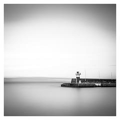 The Lighthouse (Minibert93) Tags: bigstopper bw blackwhite longexposure lighthouse water sea pier wicklow ireland longexposurebwfineart nd10stop seascape ocean monochrome