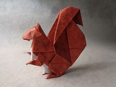 Ardilla (mrmicawer) Tags: papiroflexia origami papel ardilla squirrel bosque forest roedor