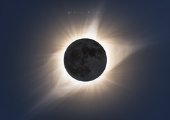 Totality in HDR. (John Finney) Tags: totality corona moon astrophotography sky eclispe northamerica wyoming totaleclipse2017 hdr handblended