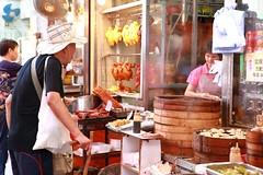 Lunch Time! (superzookeeper) Tags: lunch restaurant oldman food shamshuipo ssp canoneos5dmarkiv ef2470mmf28liiusm 5dmk4 5dmkiv hk hongkong eos digital market people dimsum bbqmeat chinesebbq wetmarket over1000views street