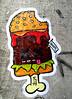 streetart in Hamburg (wojofoto) Tags: streetart graffiti pasteup hamburg deutschland germany wojofoto wolfgangjosten späm beste