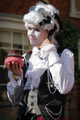 Asylum Steampunk Festival 2017 (Gordon.A) Tags: lincolnshire lincoln minsteryard asylum theasylum convivial lincolnasylum lincolnasylumsteampunk asylumsteampunk asylumsteampunkfestival lincolnasylumsteampunkfestival festival festiwal festivaali festivalen wyl festspiele steampunk steampunkstyle steampunkclothes steampunkfashion steampunklifestyle victorian neovictorian alternative cosplay costume creative culture lifestyle man people peoplewatching street event streetevent eventphotography amateur streetphotography streetportrait colourportrait colourstreetportrait portrait portraitphotography candid candidphotography candidstreetphotography candidportrait candidstreetportrait smile naturalexpression naturallight naturallightportrait day daylight outside outdoor outdoorphotography town city citystreets urban urbanphotography canon canoneos750d