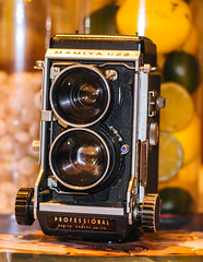 For Sale by frperdurabo - I really need gear with multicoated lenses for the night stuff.  This is a nice way to get your Diane Arbus or Larry Fink on, though.  newjersey.craigslist.org/pho/d/mamiya-c22-65mm/6313130703...