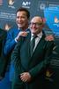 Arnold Schwarzenegger & President of San Sebastián International Film Festival Jose Luis Redbordinos