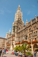Neues Rathaus (Tony Shertila) Tags: 20170825122610 münchen bayern germany europe deutschland alamannia bavarian city onemillionvillage deu