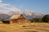 Mormon settler barn (sbuckinghamnj) Tags: mormonbarn grandteton grandtetonnationalpark wyoming landscape mountain