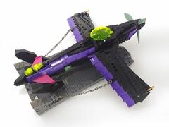 Avalon Unseelie Mk.xiii Custom (Cagerrin) Tags: lego system aircraft airplane fighter sleepingbeauty maleficent disney skyfi