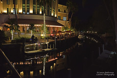 Dinner docking on Las Olas (lauren3838 photography) Tags: laurensphotography lauren3838photography landscape architecture boats dock yachts nightscene night florida nikon d750 ftlauderdale lasolasboulevard restaurant dinner finedining asian tamron2875 tourism city