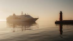 Hamburg (Chris Gaziano) Tags: hamburg cruiseship sunrise lakemichigan milwaukee wisconsin