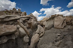 Bisti Badlands (CDeahr23) Tags: bistibadlands newmexico summer sun geology nm sanjuancounty denazin wilderness