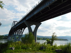 Lake Champlain Bridge (jimmywayne) Tags: vermont addisoncounty chimneypoint lakechamplain bridge