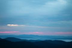 Sunrise over the Blue Ridges (joehoeper) Tags: avl westernnorthcarolina nationalforest appalachianmountains pisgahnationalforest brevard northcarolina 828 naturephotography blueridgemountains blueridgeparkway