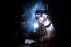 Masked welder / Le soudeur masqué (Kevin Daath) Tags: nuit soudeurs soudure welding night welder welders soudeur light lumière art couleur
