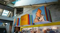 Musee de la Civilsation-1 (Vancouverscape.com) Tags: 2017 canada herge museedelacivilisation quebccity quebec quebeccity tintin exhibitions museums travel