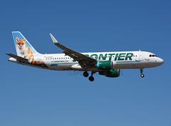 N229FR (MAB757200) Tags: frontierairlines a320214 n229fr peachythefox seattle sea seatac ksea jetliner aircraft airplane airlines airbus