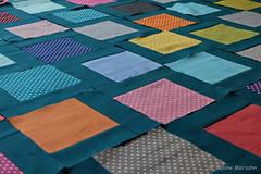 WIP Flying Squares Detail (Sockenhummel) Tags: handarbeitensabine quilt fuji x30 fujifilm finepix fujix30 patchwork sahummel handarbeit wip flyingsquares