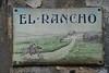 El-rancho (alexisorloff) Tags: plaquesémaillées nomsdemaisons amanshomeishiscastle ©alexisorloff alexisorloff lettering lettres seineetmarne 77 rancho